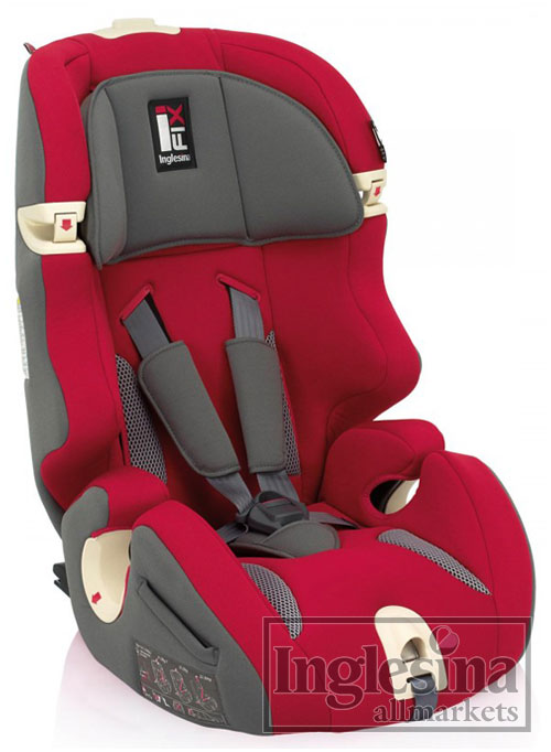 Inglesina Prime Miglia I-FIX Red