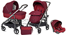 Коляска 3 в 1 Inglesina Trilogy Comfort Touch Ruby Red