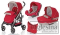 Inglesina Modular Trilogy System 3 in 1 Luna Red